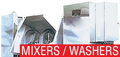 Mixers, Washers, Dryers
