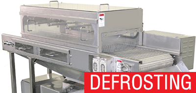 Defroster, Defrosting equipment