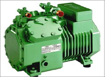 Cooling compressor-condenser unit