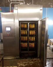 PREMIUM Hot cold smoking chamber