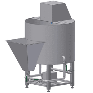 brine mixer for fish