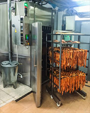 cold smoking chamber