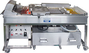 Machine for frying