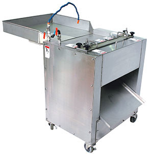 Squid Slicing Machine. Direct Loading Type SSM 700