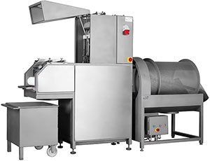 Commercial meat injector