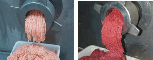 mincing meat
